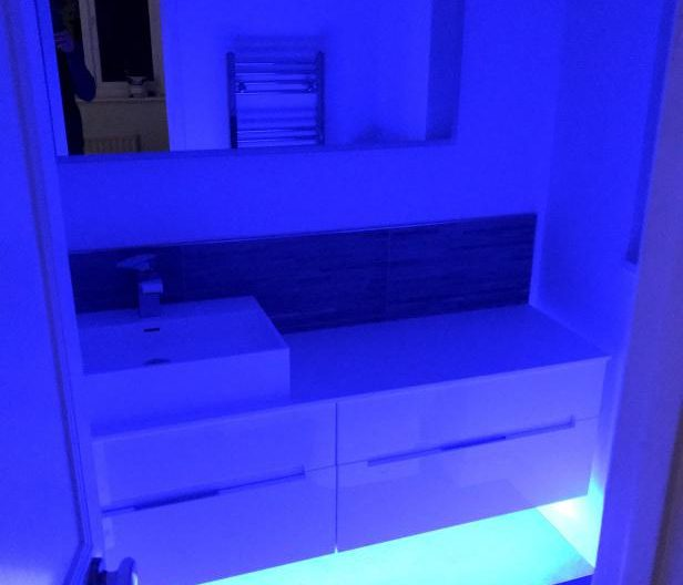 ensuite bathroom led lights